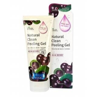 Пилинг-скатка с экстрактом ягод асаи Ekel Acai Berry Natural Clean Peeling Gel